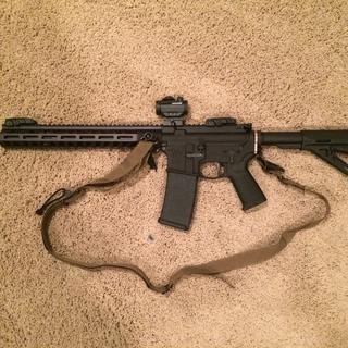 Add an optic, sling, and stripped lower receiver and you have yourself an amazing rifle.