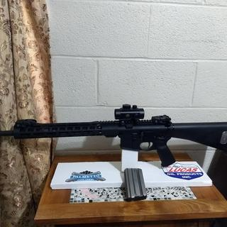 psa upper and lower a2 buttstock .  i like it !