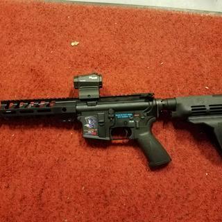 Romeo5 on my 300 Blackout Reaper Pistol