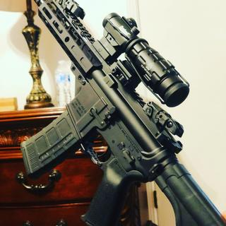 Awesome PAS 8.5 300 blackout pistol kit.  Pictured fully built.
