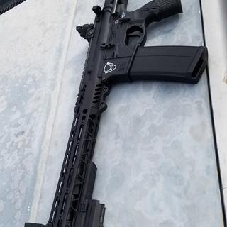 I used the SBPDW brace instead also added and changed out some other parts.