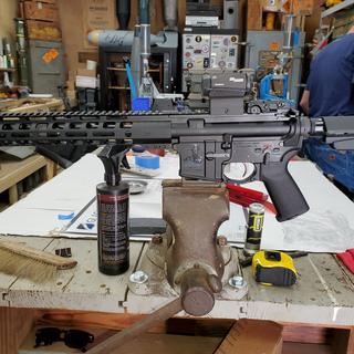 Also got the PSA AR Pistol kit