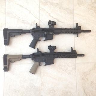 """8.5"""" pistol FDE below 10.5"""" PSA build"""