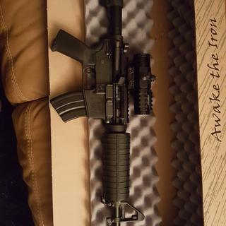 SPA 7.65x39 upper and SPA lower kit.