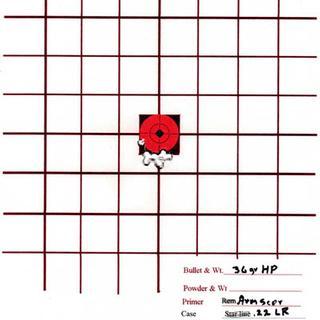 ArmScore @ 50 yards, DPMS Bull Barrel Upper