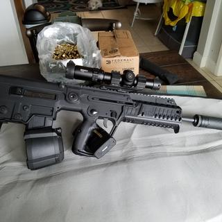Great product Free shipping. Runs flawless in my X95 with Silencer Co Saker .556 supressor. Mj.