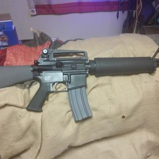 Here is the end product using the PSA Mid-Length Gray Freedom Rifle kit!  Looks and feels dead-on!!