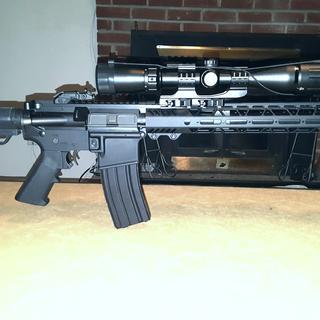 """Dienekes"" 16"" .300 Blackout He is so ready for the Range."