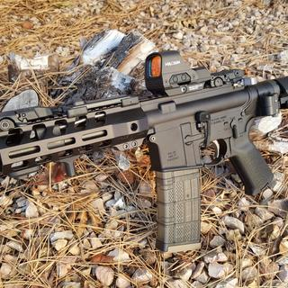 All PSA except the charging handle, light, and optic.