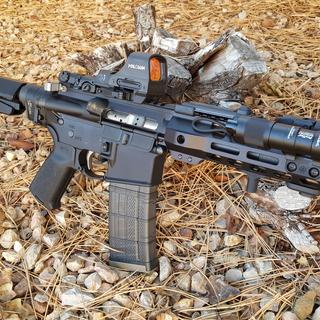 Great shooter, just waiting on the suppressor still.