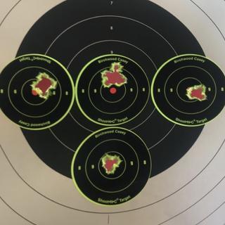 5 round One hole groups at 100yards ! I've gotta say best ammo I've shot !