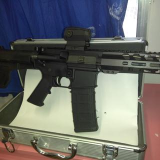 PSA tactical pistol.