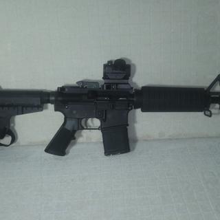 My first AR pistol.