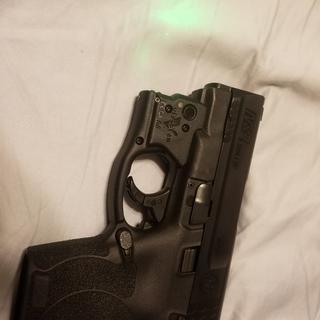 Love the viridian laser on rhis pistol.