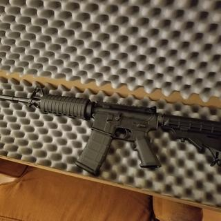 This was the finished build, extremely nice AR-15 for the price  highly recommend.