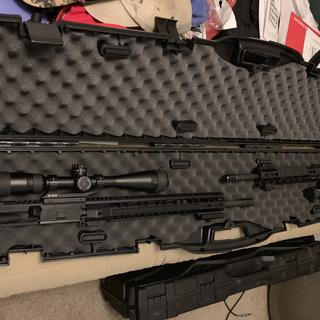 """PSA Uppers: .224 Valkyrie 18"""" and 5.56 NATO 18""""."""