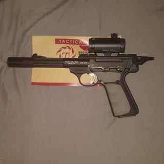 added tactical lightweight barrel, halo ring, trigger, and comp... total build cost was under $399