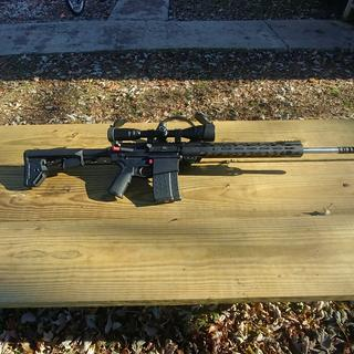 Awesome looking rifle! A real blast to shoot...