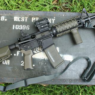 M4 rifle kit with some simple upgrades.