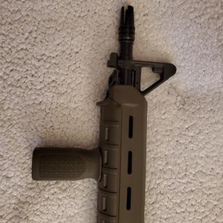 I changed the furniture to OD Green magpul and 3 prong flash hider