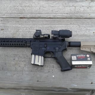 300AAC Blackout Pistol with brace