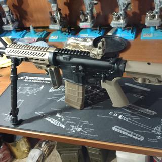 Combination Magpul and MFT furniture.