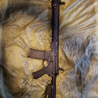 Complete rifle with Magpul ACS-L stock