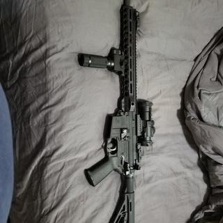 AR15 5.56 with Vortex Prisim 3x