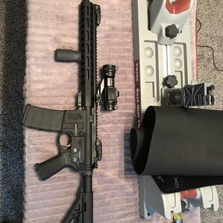 This was my first AR build. Extremely happy with how it turned out. PSA sells great products.