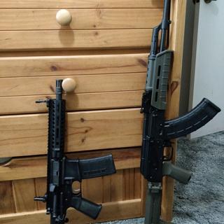 """PSAK 47 next to my PSA .300 BLK 8"""" SBR"""