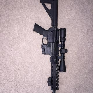 My 10.5 inch pistol with centerpoint 3x9x40 first focal plane scope