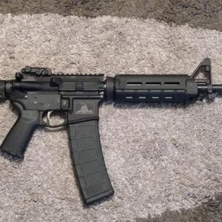 Looks good with a 40 round  P-mag