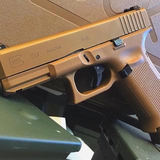 Glock 19X Gen5 9mm Pistol, Flat Dark Earth - PX1950703