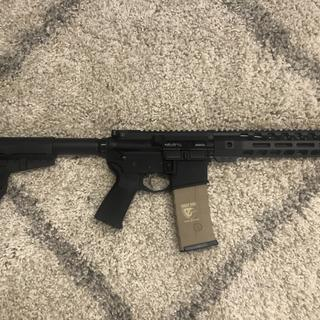 First custom AR build I have built!! Love it!! I will be purchasing More!!