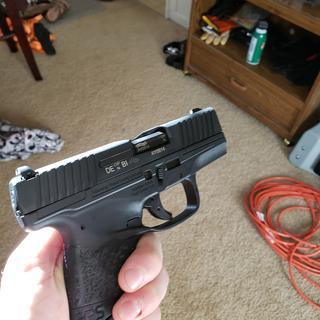 Black Walther PPS M2 Pistol | 9mm Handgun | Palmetto