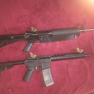 Love the pistol lower, also in the picture is another PSA ar 15 purchased as upper and lower