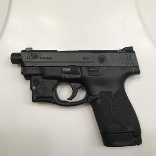 S&W Shield 2.0 Veridian Reactor green laser SilencerCo threaded barel Waiting in Apex Trigger