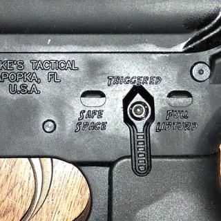 """PSA 7.5"""" upper dropped onto a Spike's """"Snowflake"""" lower, complete with a Fostech Echo trigger group."""