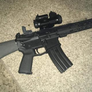 When first assembled with Aero M4E1 lower