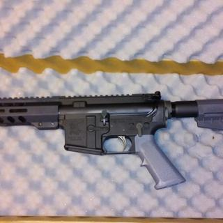 "PSA 5.56 8.5"" assembled upper PSA Shockwave lower kit"