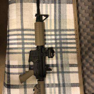 Added PSA lower, MBUS rear sight, and a TRS-25 Red Dot