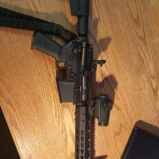 Great brace, works well with my 10.5 300blk.