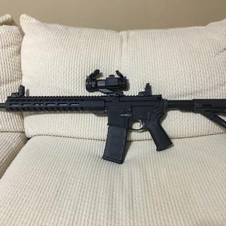 One badass AR-15! I used an Anderson stripped lower and mounted a Vortex Strikefire ll.