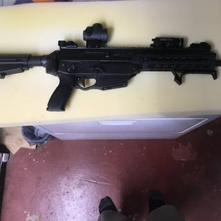 Sig 556xi pistol, that actually works! I got a good one that actually works.