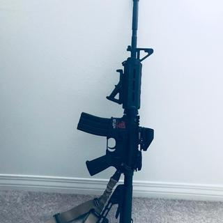"""My first AR build, Bear Creek Lower with PSA 16"""" Carbine Length 5.56 NATO 1:7 M4 Nitride MOE Upper"""