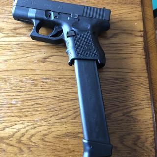 Glock Model 9mm Double Stack 33 rd Extended Magazine for Glock 17/18/26/34,  Black