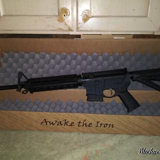 Reminds me of the one I carried in combat.