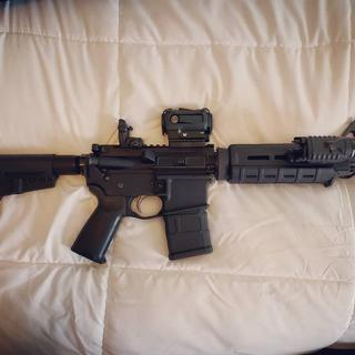 The PSA 10m5 5m56 NATO MOE Shockwave kit is amazing!  Paired it with an Anderson lower and its great