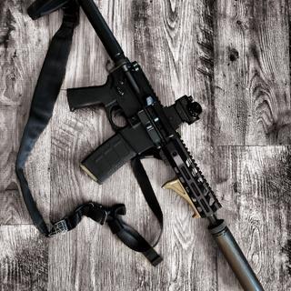 """8.5"""" 300 blk suppressor host pistol"""