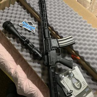 Everything in the pic is what came in the box except the scope... really happy with my new rifle.